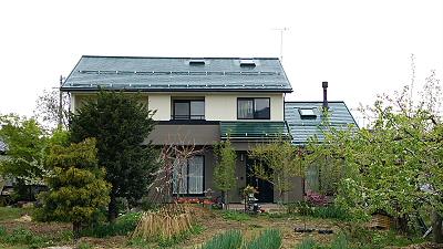 施工後 須坂市S様邸外壁・屋根塗装 写真