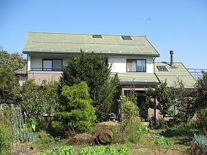 須坂市S様邸外壁・屋根塗装 施工前 写真