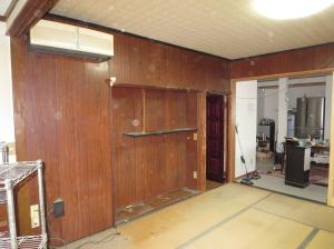 小布施町 和室から洋室工事 施工前 写真