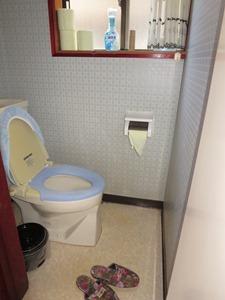 下田様邸施工前トイレ