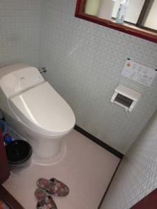 下田様邸施工後トイレ
