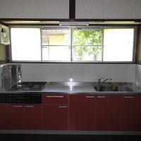 キッチン改修施工後